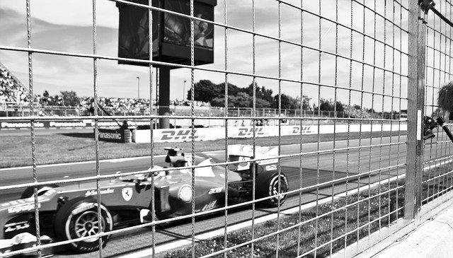Photo d'une Formule 1.