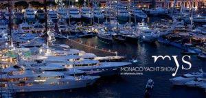 Yachts au port de Monaco pour le Monaco Yacht Show.