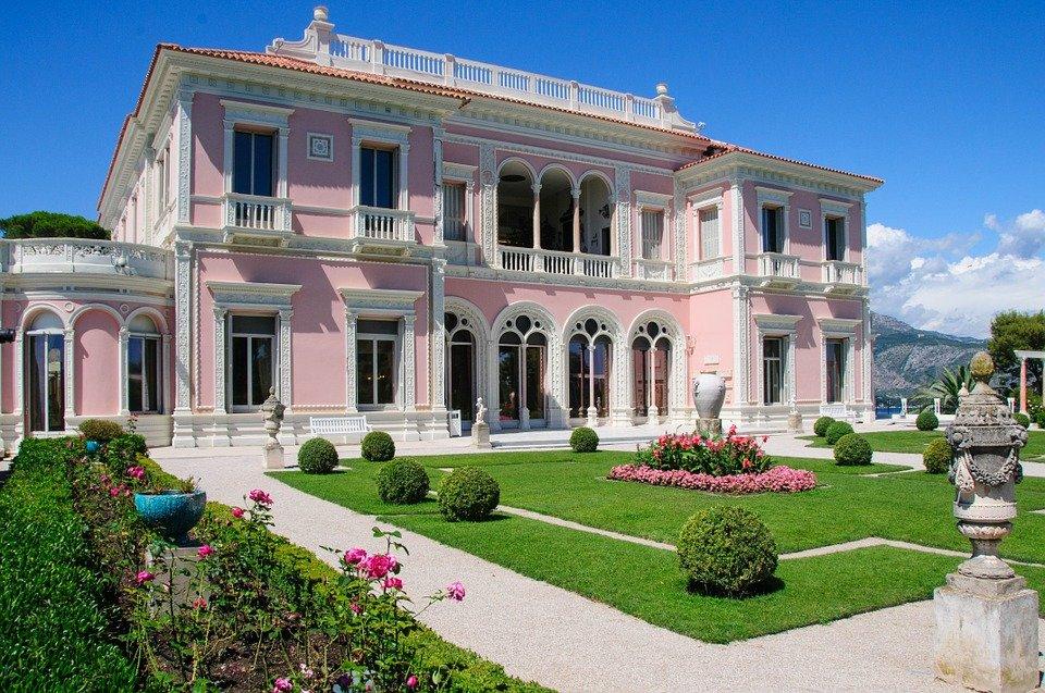 La villa Ephrussi de Rothschild.
