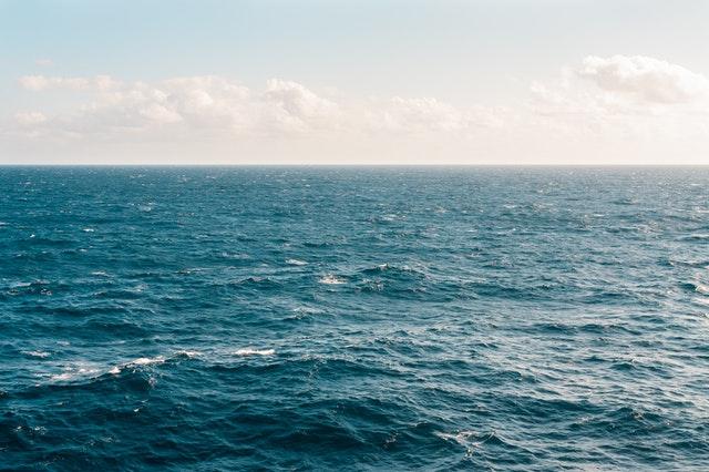 Vue sur la mer à Monaco.
